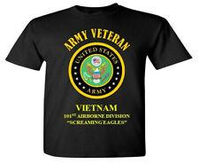 VIETNAM* 101ST AIRBORNE DIVISION *ARMY VETERAN* VINYL SHIRT OR SWEATSHIRT