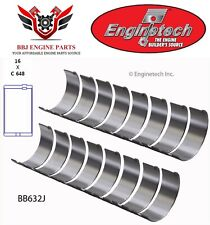 Amc Jeep V8 290 304 343 360 Enginetech Rod Bearings 1966 - 1991