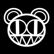 Radiohead vinyl sticker decal self adhesive car window