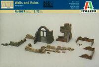 Italeri 1/72 6087 WWII Walls & Ruins I (Diorama & Accessories)
