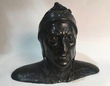 Bronze Bust of Dante Alighieri, 19th Century