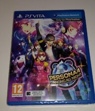 Persona 4 Dancing All Night PS Vita New Sealed UK PAL Sony PlayStation PSV Dance