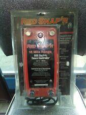 Red Snapr 15 Mile Range 66b Electric Fence Controller 110v Excellent