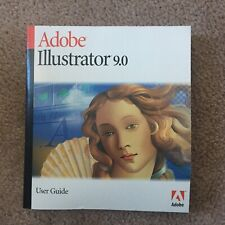 Adobe Illustrator 9.0 User Guide 2000 softcover manual book Mac Windows