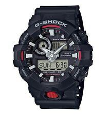 Casio G-Shock *GA700-1A Front Button Anadigi Black Resin for Men COD PayPal