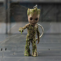 Push Bomb Button Baby Groot Guardians of the Galaxy vol.2 Key Ring Figurine