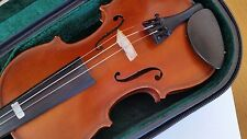 Gliga 111 1/4 One Quarter Size Violin Outfit With Bow Case European Handcrafted