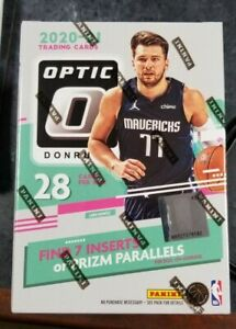 2020-21 PANINI DONRUSS OPTIC NBA BASKETBALL BLASTER BOX LAMELO EDWARDS PRIZM
