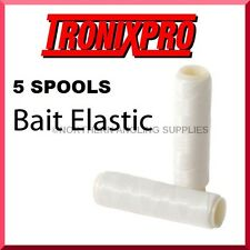 5 TRONIX HEAVY BAIT ELASTIC FOR SEA FISHING PIKE SNAP TACKLE DEADBAIT RIGS LURES