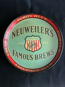 Neuweiler's Famous Brews tray - Allentown, PA