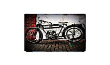 1911 humber Bike Motorcycle A4 Photo Poster
