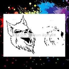 Werewolf 2 Step Design  Airbrush Stencil,Template