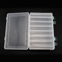 14 Compartments Two-Sided Fishing Lure Bait Hooks Tackle Waterproof Storage Box