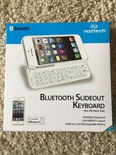 Naztech N5200 iPhone 5/5S Slideout Keyboard - White Slideout Keyboard