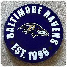 "Baltimore Ravens NFL Logo Bottle Top 13.5"" Hanging Wall Art Decoration"