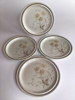 """Vintage Royal Doulton SANDSPRITE 10-5/8"""" Dinner Plate Set Of 4"""