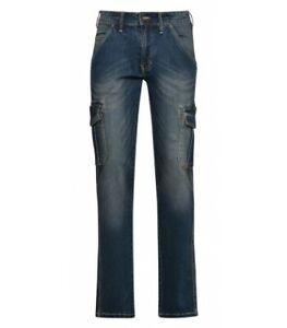 Pantalone jeans da lavoro Diadora Utility Pant Cargo Stone 32 Dirty washing