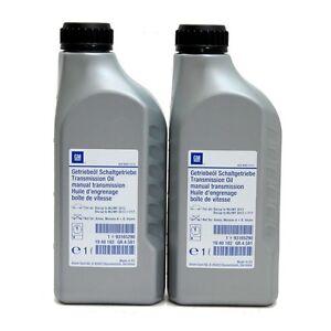 Original Opel Getriebeöl SAE75W85 Schaltgetriebe Öl 2 Liter 1940182 93165290