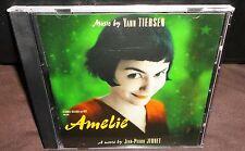 Amelie Movie Soundtrack (CD, 2001) Yann Tiersen