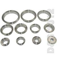 """3/4""""-4"""" 19MM-102MM OD Sanitary Weld on Ferrule Tri Clamp Stainless Steel 316 Hot"""
