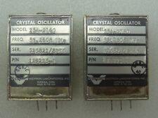 Lot of 2 Vectron Model: 254-2160 Crystal Oscillators P/N: 129225-1 53.2608 MHz