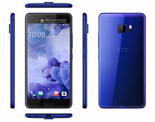 "HTC U Ultra Blue 64GB 5.7"" 4GB RAM Android Factory Unlocked Phone By FedEx"