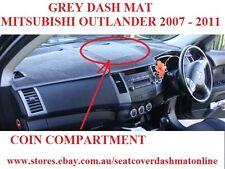DASH MAT,GREY DASHMAT FIT MITSUBISHI OUTLANDER 2007-2011,COIN COMPARTMENT, GREY