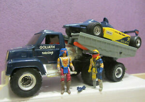 M.A.S.K. GOLIATH + Matt Trakker + Nevada Rushmore Figuren