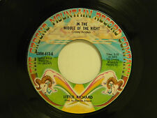 Little Richard 45 IN THE MIDDLE OF THE NIGHT / WHERE WILL I FIND A PLACE... ~VG+