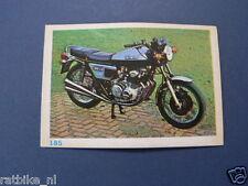 VDH8-185 BENELLI 500 CC QUATRO  MOTORCYCLE PICTURE STAMP ALBUM CARD,