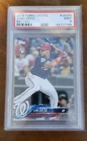 Juan Soto 2018 Topps Update Rookie Batting Washington Nationals PSA 9 MINT
