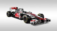 MCLAREN MERCEDES MP4-27 FORMULA 1 F1 RACE CAR POSTER PRINT 20x36 HI RES