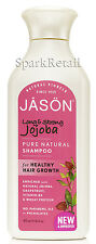 Jason Organic Long & Strong JOJOBA Pure Natural SHAMPOO For Hair Growth 473ml