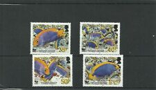Ascensione island-sg962-965-angelfish MNH