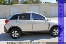 GTG 2008 - 2010 Saturn Vue 6PC Chrome Stainless Steel Pillars Posts