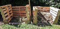 Composting Fertilizer Compost CD Manure Homesteading 30 Books Gardening Waste