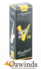 Vandoren V16 Tenor Sax Reeds - Strength 2 1/2  (Box of 5)