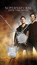 Supernatural Necklace - Anti Possession, Impala - Official Merchandise