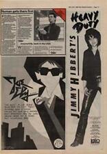 Joe Ely Band Live Shots Jimmy Hibberts Heavy Duty Advert NME Cutting 1980