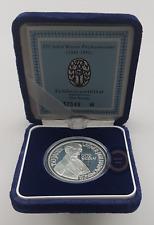 1992 Österreich 100 Schilling Silber Proof Otto Nicolai Certified Safe