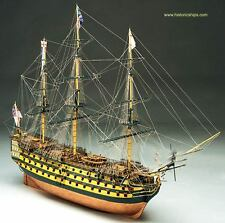 "Elegant, finely detailed model ship kit by Mantua Sergal: the ""HMS Victory"""