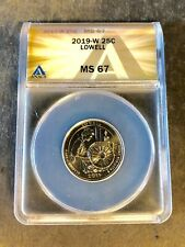 2019-W 25C Lowell Quarter Dollar MS67 ANACS Authenticated #5278679