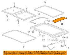 GM OEM Sunroof Sun Roof-Sunshade Shade Cover 84221481