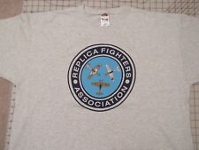 REPLICA Fighters Association T-SHIRT Men 2XL Air Plane RFA War Military Magazine