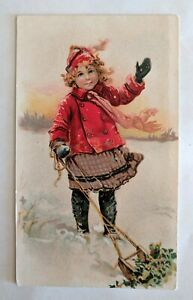 Victorian Advertising Card - Bissell Carpet Sweeper