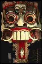 202034 Máscara A4 Foto Impresión balinés