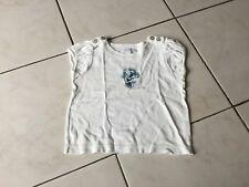 Tee-shirt JACADI taille 3 Ans blanc bon état