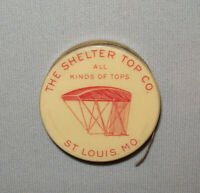 Old Antique Vtg Ca 1900s Buggy Tops Celluloid Advertising Tape Measure St Louis