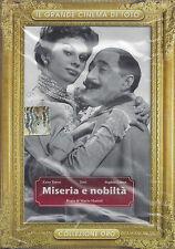 Dvd **TOTO' ~ MISERIA E NOBILTA'** con Sophia Loren nuovo Slipcase 1954