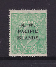 N.W.P.I. :  1/2d  DARKER SHADE OF GREEN  KGV  SINGLE  WMK  SG:102   MH